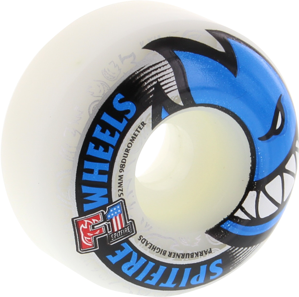 Sf F1pb Bighead 52Mm White W/Blue