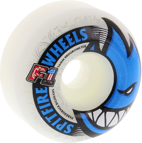 Sf F1pb Bighead 56Mm White W/Blue