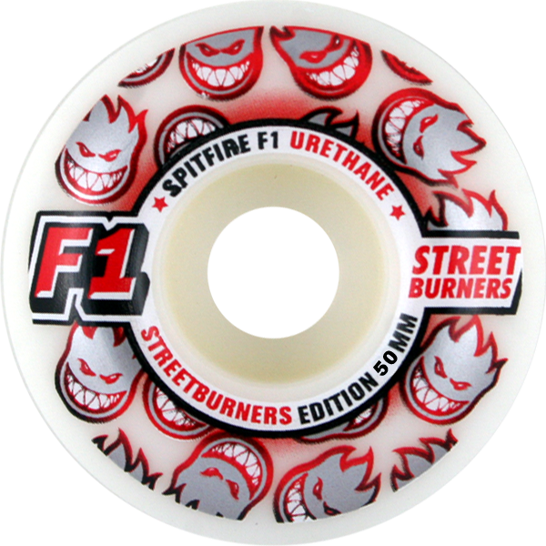 Sf F1sb Wht/Red Fade 50Mm
