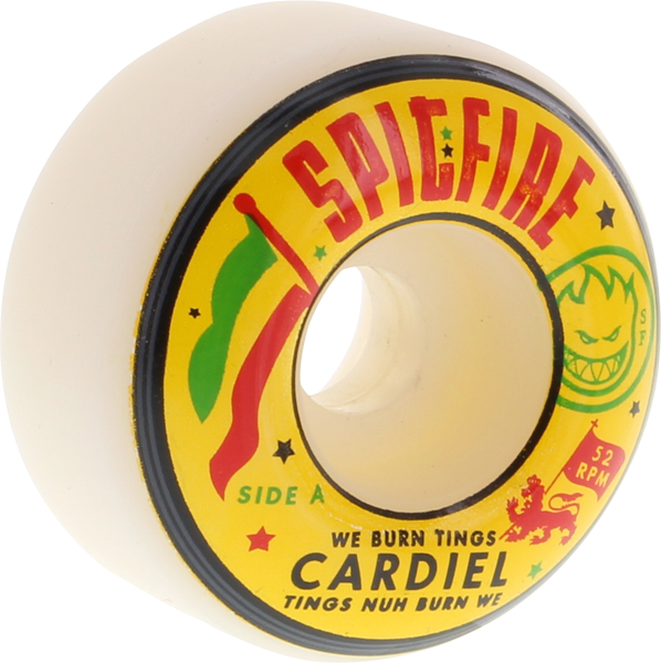 Sf Cardiel We Burn Things 52Mm White