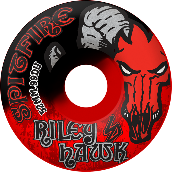 Sf Riley Hawk 52Mm Blk/Red Swirl