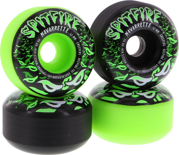 Sf Navarette Creepers 52Mm Mix Blk/Grn