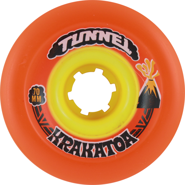 Tunnel Krakatoa Slide 70Mm 78A Orange