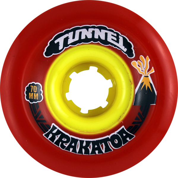Tunnel Krakatoa Slide 70Mm 81A Red