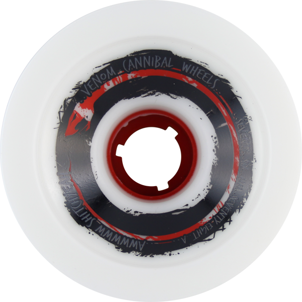 Venom Cannibals 76Mm 78A Wht/Red W/Red