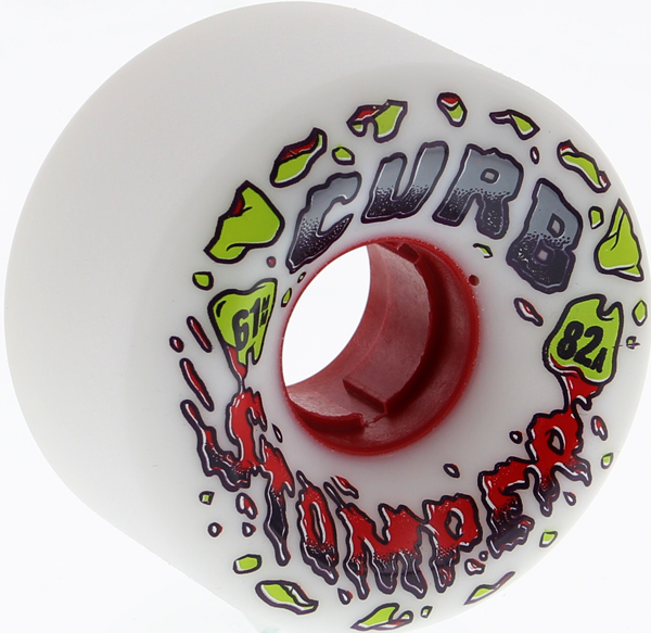 Venom Curb Stompers 61Mm 82A White