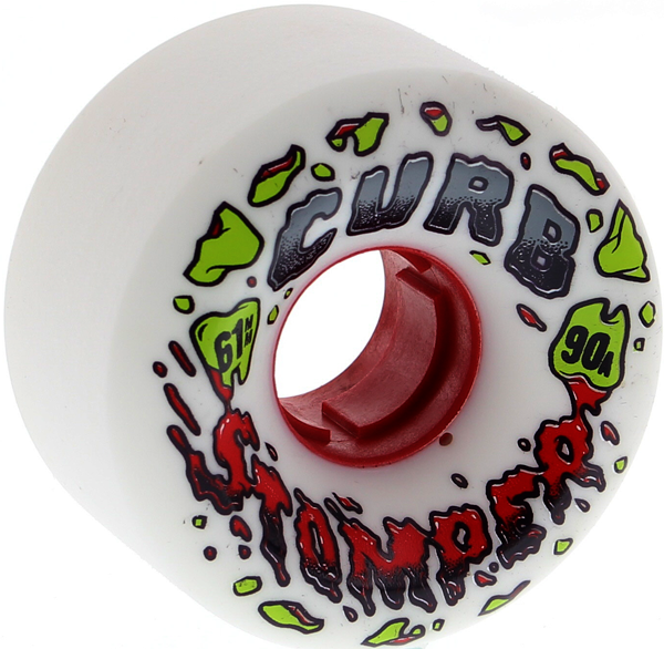 Venom Curb Stompers 61Mm 90A White