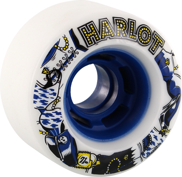 Venom Harlot Cobra Core 71Mm 82A Wht/Blue