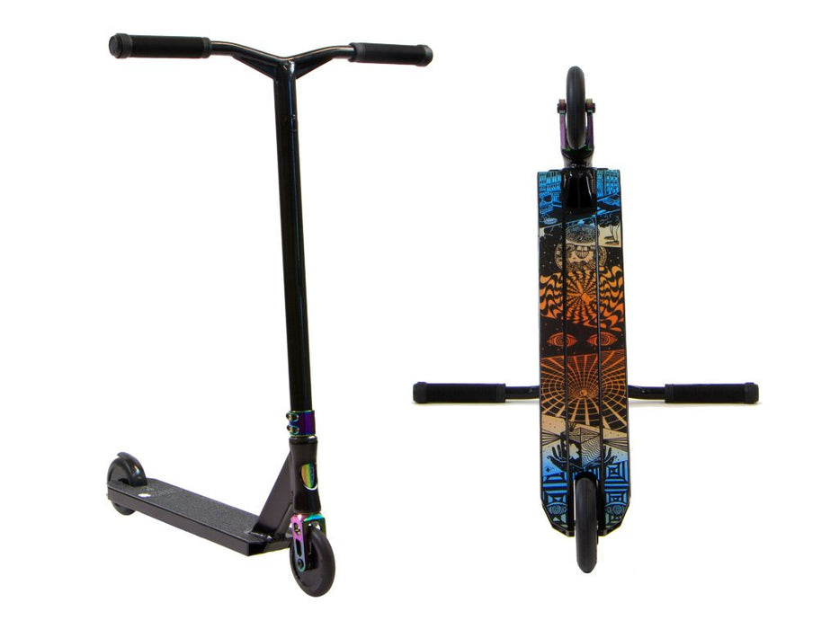 Lucky Prospect Pro Scooter - Black/NeoChrome