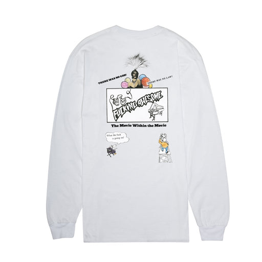 FA Color Movie L/S Tee - White