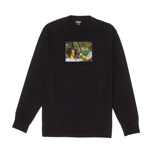 FA Punch L/S Tee - Black