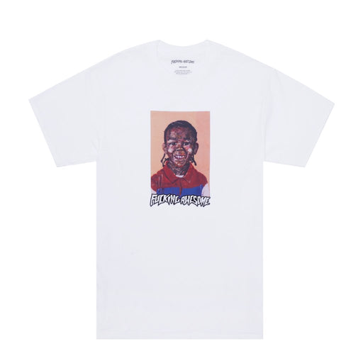 FA NAK Felt Class Photo Tee - White