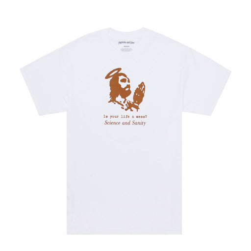 FA Science And Sanity Tee - White