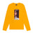 FA Hockey Dog Long Sleeve Tee - Bright Gold