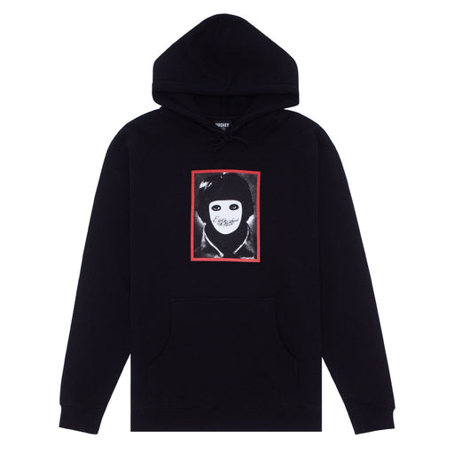 FA No Face Hoodie - Black