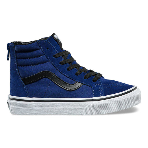 Vans Kids Sk8 Hi Zip - Blue Depths/Black
