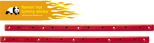 Enj Tummy Sticks Rails Flaming Hot Red W/Flints