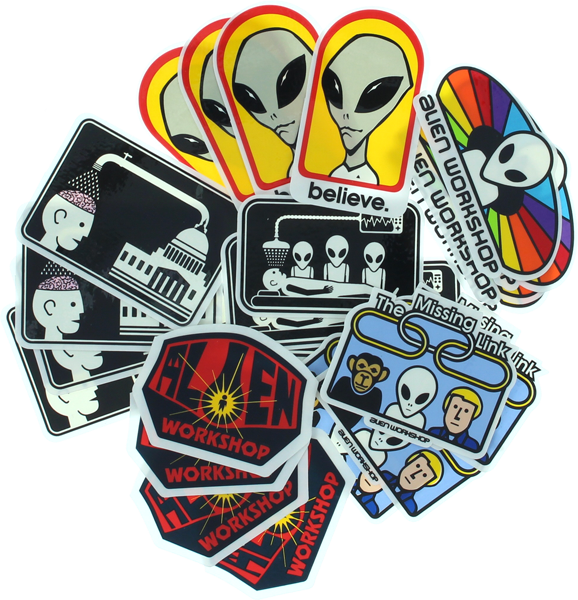 Aw 24/Pack Assorted Decals Assorted