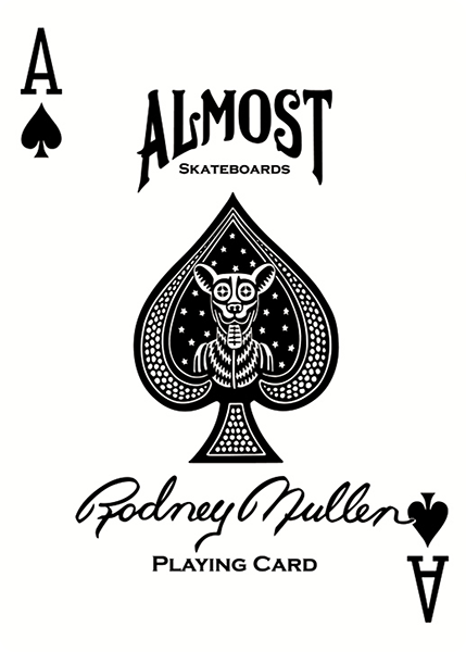 Almost Spade Decal Single