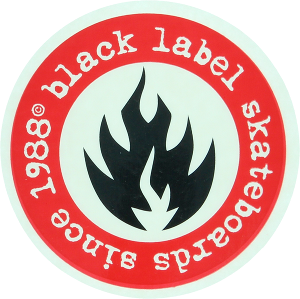 Bll Since 88 Decal Single Blk/Red Asst.Colors