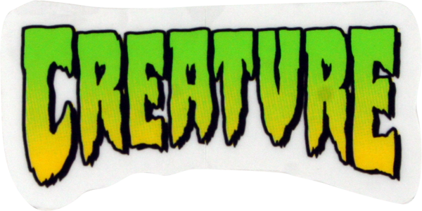 "Creature Logo Mini Decal 1""X2"""