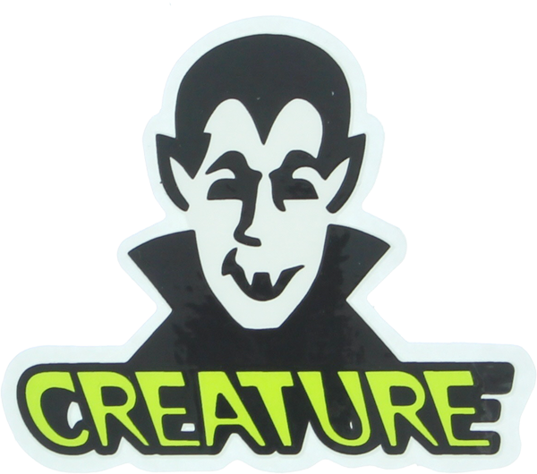 Creature Vamp Decal 3X2.62""