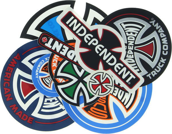 Inde 10/Pack Assorted Decals
