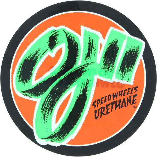 "Oj Speed Wheels 6""X6"" Decal Single"