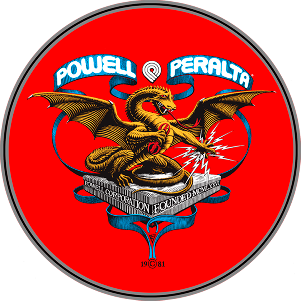 "Pwl/P Banner Dragon 4"" Decal Single"