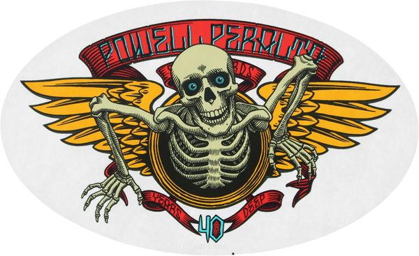 Pwl/P 40Th Anniversary Decal Single