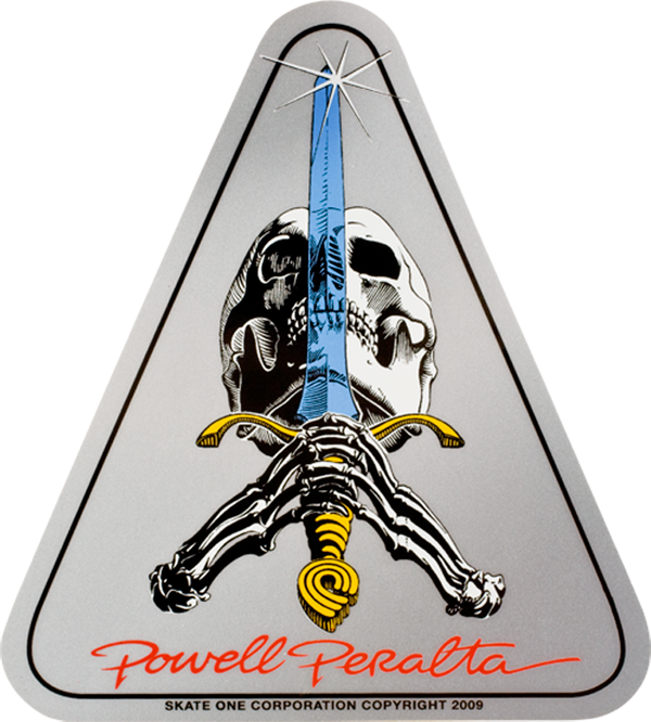 Pwl/P Skull & Sword Decal Single