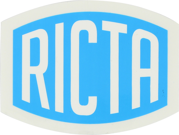 "Ricta Logo 2"" Decal"