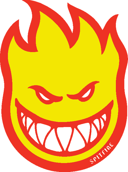 Sf Fireball Fill Lg Decal Single