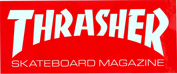 Thrasher Mag Logo Medium Decal Single Asst.Colors
