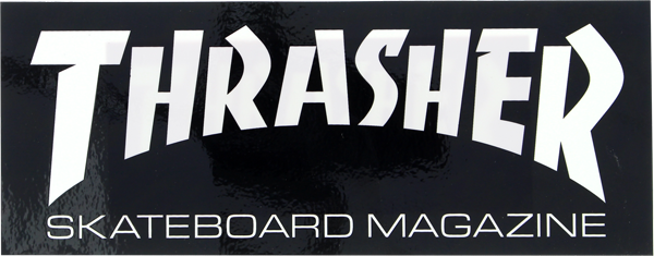 Thrasher Mag Logo Super Decal Single Asst.Colors