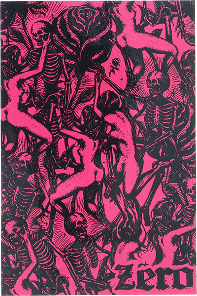 Zero Skeleton Orgy Decal Single