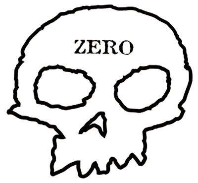 Zero Skull Decal Single