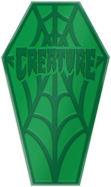 Creature Mini Web Curb Wax Green