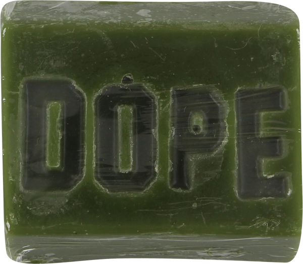 Dope Skate Wax Bar Dark Green