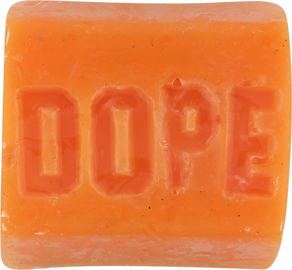 Dope Skate Wax Bar Orange Chronic