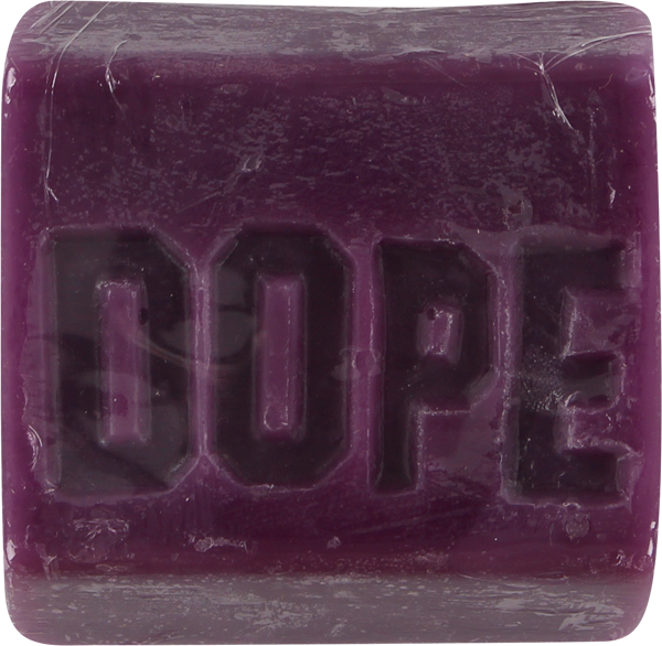 Dope Skate Wax Bar Purple Urkle