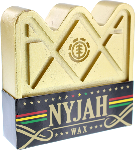 Element Nyjah Crown Skate Wax Gold