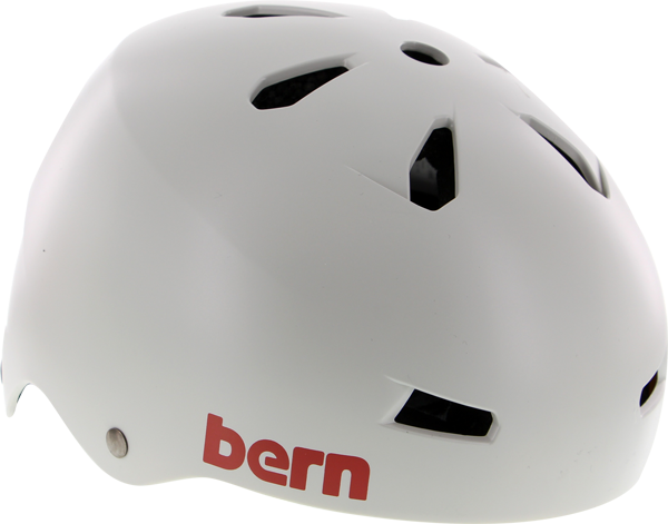 Bern Macon Satin Light Grey S Helmet