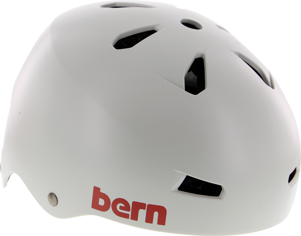 Bern Macon Satin Light Grey L Helmet