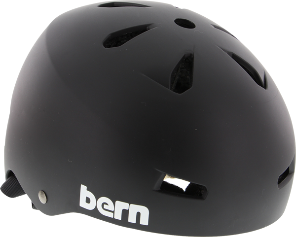 Bern Macon Matte Black Xl Helmet