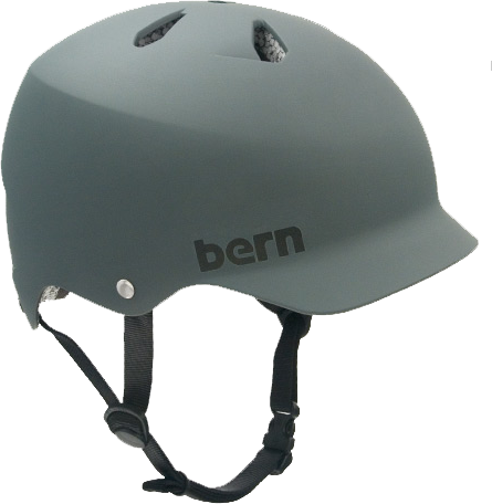 Bern Watts Matte Grey Xl Helmet