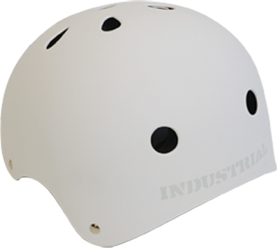 Industrial Flat White Helmet Xl Ppp