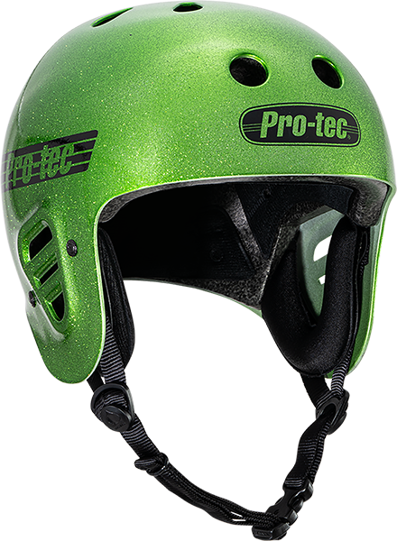 Protec(Cpsc)Classic Candy Green Flake-M Helmet