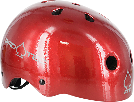 Protec (Cpsc)Classic Red Flake-M Helmet