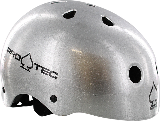 Protec (Cpsc)Classic Silver Flake-S Helmet